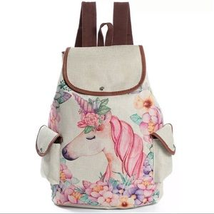 Kawaii unicorn backpack new bag fantasy boho glam